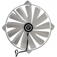Talius ventilador caja 4 led FAN-02 20cm red (Espera 3 dias)