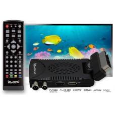 Mini TDT SCART HD Reproductor-Grabador DVB-T2 TDTy+ Sound BIWOND