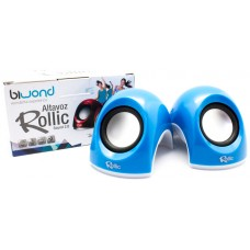 Altavoz Rollic Sound 2.0 Azul Biwond