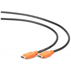 Gembird CC-HDMI4L-6 1.8m HDMI HDMI Negro, Naranja cable HDMI