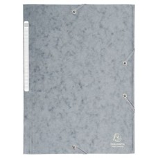 CARPETA EXACLAIR CARTON A4 GRIS