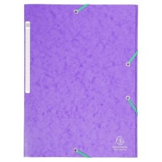 CARPETA EXACLAIR CARTON A4 VIOLETA