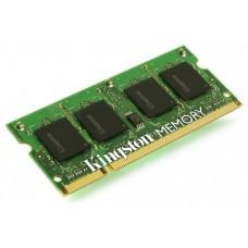 MODULO MEMORIA RAM S/O DDR3 2GB PC1600 KINGSTON RETAIL (POR