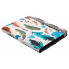 "Funda universal Silverht Ebook 6"" Feathers (Espera 4 dias)"